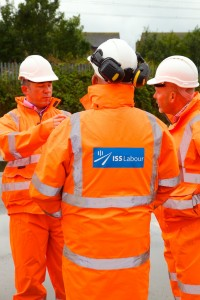 Rail services provider ISS Labour workers